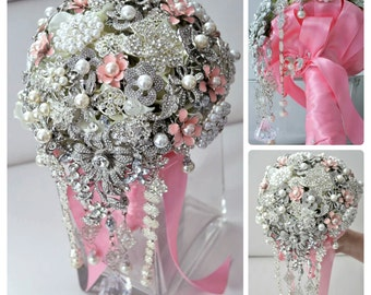 "7"" Brooch Bouquet"
