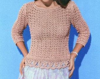 Doily Sweater