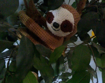 Crochet Sloth Any Colors You want