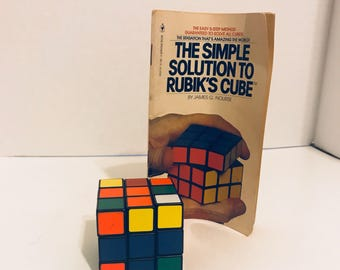 Original Rubik's Cube with Booklet