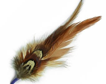 "Expo 4 1/2"" Feather Plumes Pack of 3"