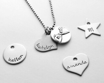 Pinky Swear Necklace - Pinky Promise Necklace - Best Friend necklace - Best friend necklace
