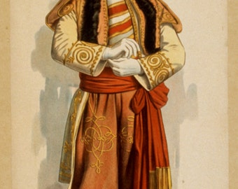 Prince Dandilo in Burlesque version of Lehar's Merry Widow, Weber's Theatre on Broadway 1908