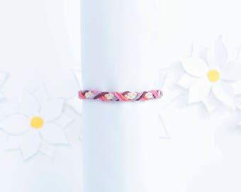 Boho Braided Bracelet | Hemp Cord Bracelet | Adjustable Bracelet | Stackable Bracelet | Handmade Jewelry | Gifts for Women | Birthday Gift