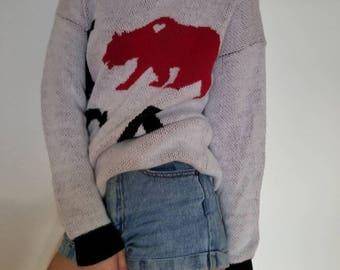 I Love CA oversized sweatshirt // Size: Small