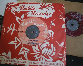 Vintage Hawaiian Vinyl :  Chanter of Ancient Hulas & Friends