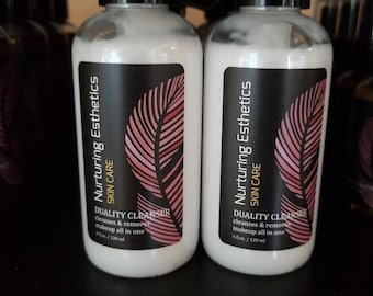 Duality Cleanser: 2 in 1 makeup remover and cleanser