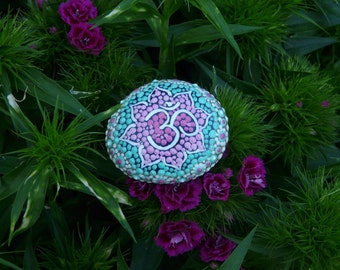 "Mandala stone ""mandal'om"""