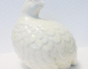 Partridge Ceramic Bird Vintage Home Decor