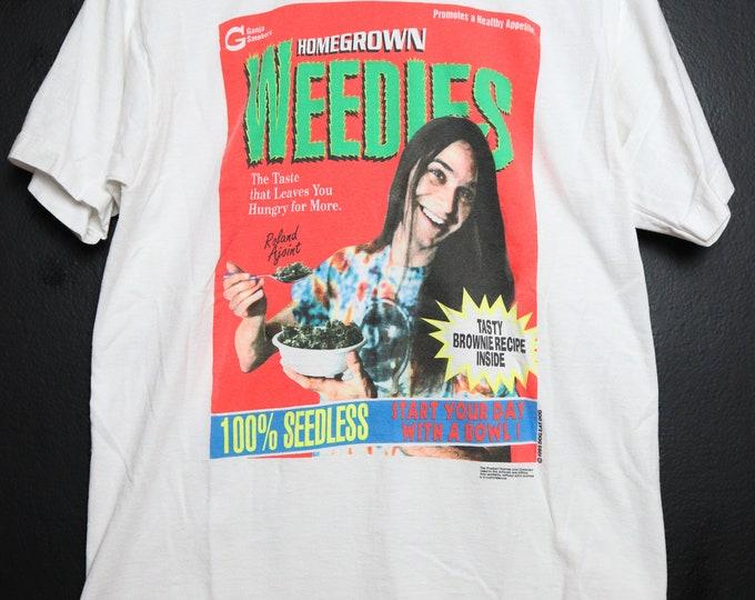 Homegrown Weedies 1993 Vintage Tshirt