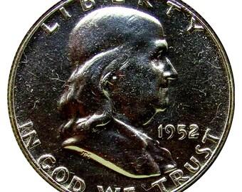 1952 Proof Franklin Half Dollar - PF / PR