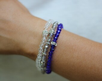 The Dallas Cowboys Beaded Bracelet Stack by TheCourtCo