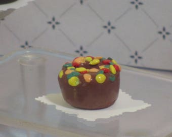 Miniature Christmas fruit cake