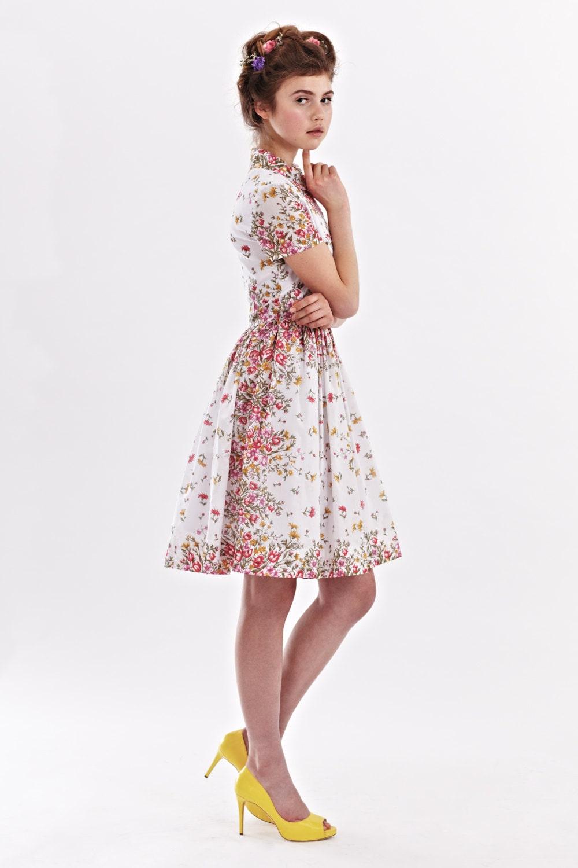Tee Länge Kleid Hochzeit Gast 1950 Kleid 50er Jahre Plus Size