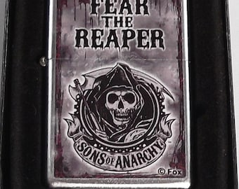 Sons of Anarchy Fear The Reaper Zippo Lighter