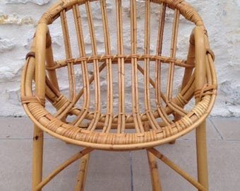 Child Vintage rattan chair
