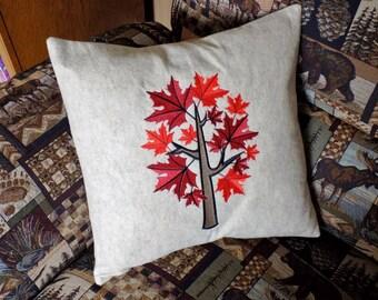 Fall Tree 2 Toss Pillow