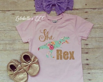 The Original She Rex Shirt, She Rex Shirt, Girl Dinosaur Shirt, Toddler Dinosaur Shirt, Dino Shirt, T-Rex, T-Rex Outfit, Jurassic Shirt
