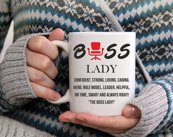 Lady Boss Mug, Boss Lady Mugs, Boss Lady Mug, Lady Boss Mugs, Funny Boss Lady Mug, Gifts for Boss Mug