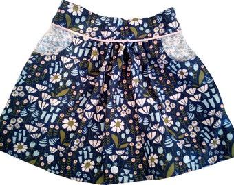 Scalable skirt, T 6-7-8 years, Velvet