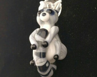 Ring Tailed Lemur Pendant