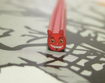 Lil Devil Polymer clay cane uncut 1pc for kawaii deco decoden and nail deco supplies