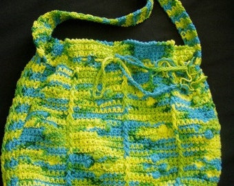 Neon Lights Cotton Bag