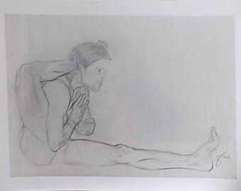 Reverence yoga art