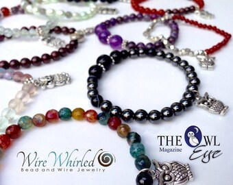 Owls of the Whirled Conservation Bracelet