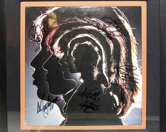 The Rolling Stones - Signed Vinyl Album - HOT ROCKS 1964-4971