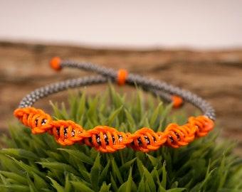 adjustable paracord bracelet| DNA double helix bracelet| paracord bracelet