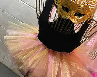 Pink and Gold Minnie Mouse Tutu