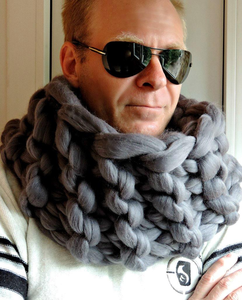 scarves koh elizabeth best elizabethkoh men for images infinity by pinterest scarf brown mens on cotton scarfs