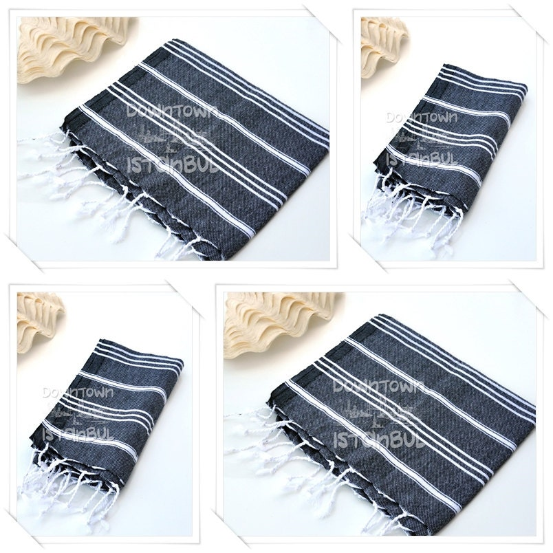 DISH TOWEL SET of 4 Peshkir Face Towel Hair Towel Tea Towel