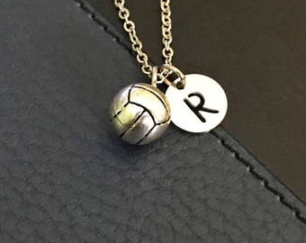 Volleyball Necklace, Volleyball charm necklace, Volleyball jewelry, Gifts for volleyball team, Sports gifts, Volleyball Mom friendship gift
