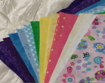 Silly turtles 10 X 10 Quilt squares