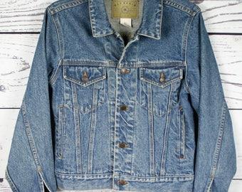 Men's XS | Vintage GAP Blue Denim Trucker Jean Jacket