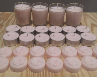 Valentine Gift Set Soy Candles