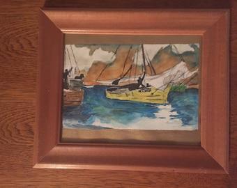 Yelllow Boat