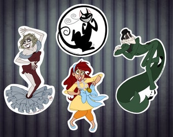 Spirit Rappings Character Stickers