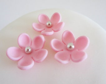edible sugar xx-small flowers color of your choice