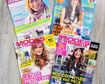Set of 4 magazines Modes & work