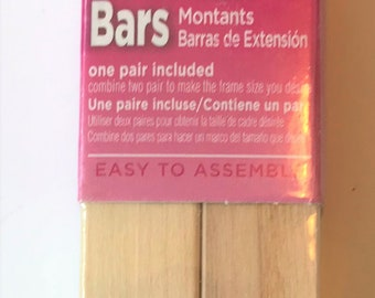 "Needlepoint Stretcher Bars - 9"" Standard Size Stretcher Bars 1 pair"