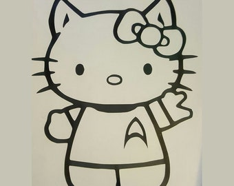 Hello Kitty Mr. Spock