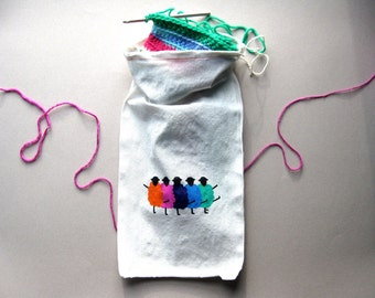 Project bag / drawstring