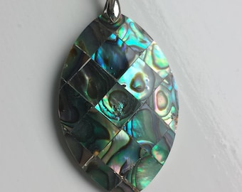 Abalone shell pendant for necklace