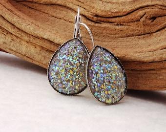 Sugar Stone Earrings Statement Earrings Statement Jewelry Costume Jewelry Costume Earrings Sparkle Earrings Sparkle Jewelry Shimmering 013