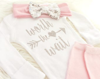 Newborn Outfit, take home outfit, Newborn Coming Home outfit Newborn bodysuit, newborn outfit, baby girl outfit