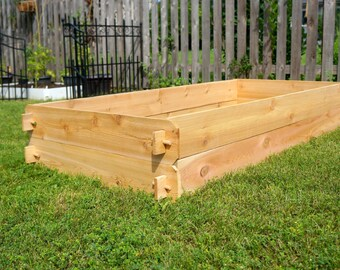 GIFT FOR HER Handmade Raised Garden Beds | Christmas Gift Home Decor Gift for Woman Gift for Mom Gift Idea Rustic Wedding Womens Gift Boho