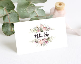 Place Cards - Roses in Bloom (Style 13807)